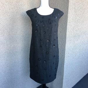 Vince wool shift dress